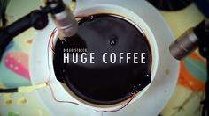 Diego Stocco - Huge Coffee by Diego Stocco. Usually I make myself a regular coffee in the morning…but not this time ;  )