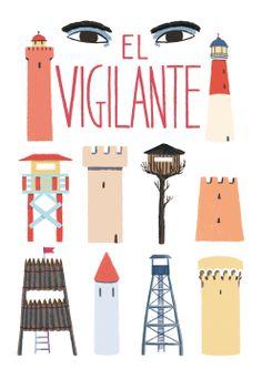 El vigilante by Cristina Daura