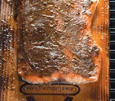 Dijon Brown Sugar Cedar Plank Salmon