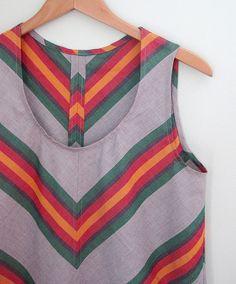 Wiksten Tank Dress, small::bird