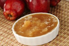 Homemade applesauce is far superior to the store bought brands in terms of both nutrition and taste, and it's super easy to make. #AppleSauce #CleanEating #SlowCooker