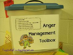 classroom, manag toolbox, idea, anchor charts, social skills, behavior management, anger management, teach, kid