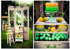 "Home Confetti: 7th ""7-Up Lemon Lime"" Party"