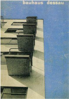 Herbert Bayer, Bauhaus brochure, 1927