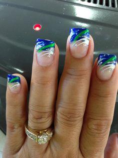 Seattle Seahawks nail