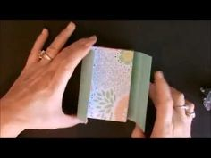 ▶ Envelope Punch Board Matchbox Gift Card Holder with Deb Valder - YouTube