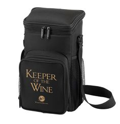 Keeper of the Wine Cooler. Holds 2 Bottle of wine.