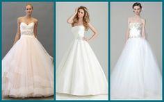 Vestido de Noiva Baile ou ball gown: Modelos de Lazaro, Allure e Marchesa