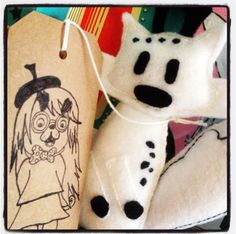 Twig from Hilda c/o No Brow and Flying Eye Books #handmade