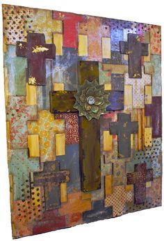 crosses layered
