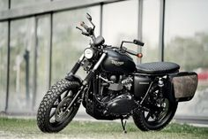 Triumph Office Bobber