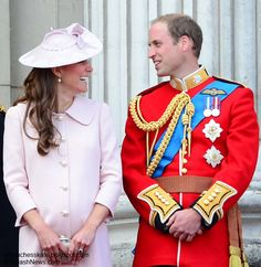 Duchess Kate: Kate and William Trooping The Colour