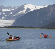The best way to see Alaska. #kayak