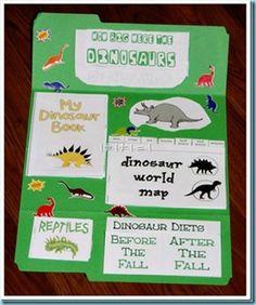 Dinosaur unit - tons of cute preschool units!