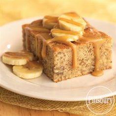Banana Caramel Cake from Pillsbury® Baking