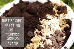add old coffee grinds and sand to your soil when potting succulents -- helps with drainage and keeps away slugs and bugs