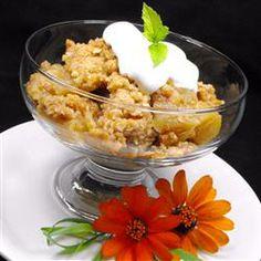 Caramel-Apple Crisp Allrecipes.com