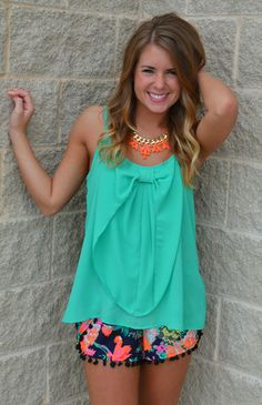 Picture of Bow So Jaded Top
