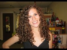 How to style Curly hair.