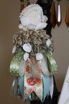 Seashell Decorative Tassel