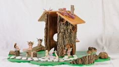 How to make a fairy log house  - Better Homes and Gardens - Yahoo!7