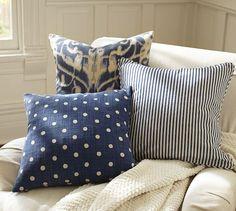 Polka Dot Pillow Cover, 18