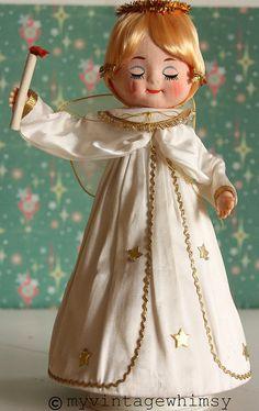 vintage christmas angel...so cute