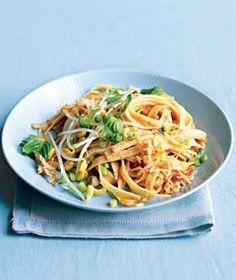 Spicy Coconut Noodles recipe