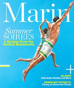 The July cover #Marin.