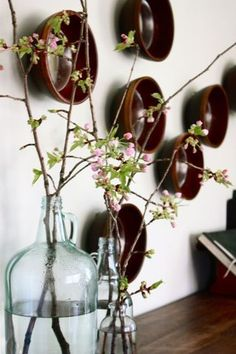 Force branches to flower indoors