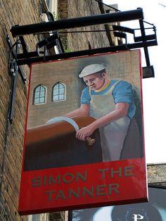 Simon the Tanner, Bermondsey, SE1 | Flickr Ewan Munro