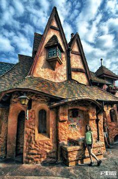 Real life Fairy Tale House