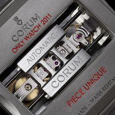 Corum - Golden Bridge Automatic Titanium