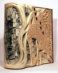 How To Make Book Sculptures Design