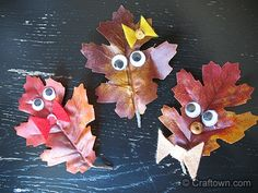 Fall Crafts for Kids | Leaf People