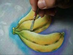 Como Pintar Bananas - YouTube