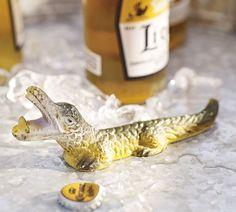 Alligator Bottle Opener   Pottery Barn