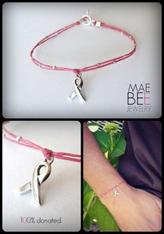 #October is #BreastCancerAwareness month. I'm donating 100% of sales of my Mary 2 Bracelet to The #AvonFoundation. Hope you can help! www.jewelrybymaebee.etsy.com