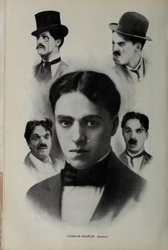 Very early Chaplin promotional poster