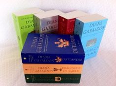 Diana Gabaldon's Outlander Series: Outlander / Dragonfly in Amber / Voyager / Drums of Autumn / the Fiery Cross / a Breath of Snow and Ashes / an Echo in the Bone