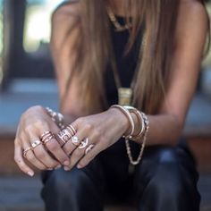 Rings and braclets