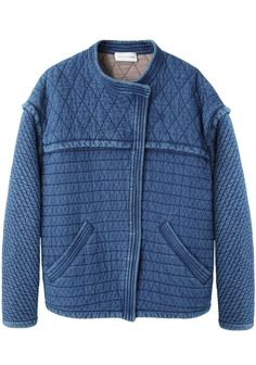 Isabel Marant Étoile Kandisa Quilted Denim Jacket