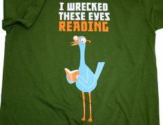 eye shirt, read shirt, eye read