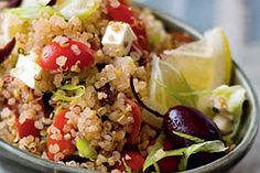 Quinoa recipes for any meal - simple and creative ideas. Love that quinoa is a good protein source!