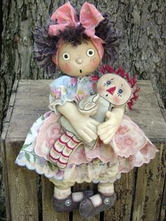 The Pattern Hutch- Cloth Doll Patterns- Cat & the Fiddle