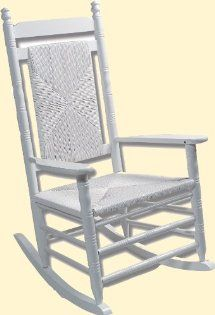 store r rocking chair in your own home with our pure white rocker ...