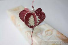 De Stampin' Corner: Heart Ornament