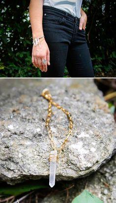 DIY Crystal Bracelet - Henry Happened