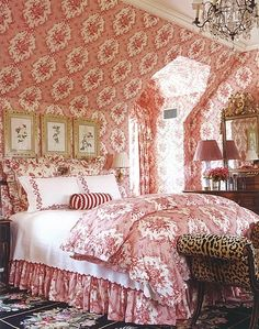 interior design, country cottages, rug, charlott moss, french country, french cottage, guest rooms, leopard, bedroom