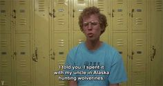 """napoleon dynamite dating skills The following is from the dvd cover: """"napoleon dynamite is a new kind of hero, complete with a tight red 'fro, sweet moon boots, and skills that can't be topped napoleon spends his days drawing mythical beasts, duking it out with his brother, kip, and avoiding his scheming uncle rico when."""